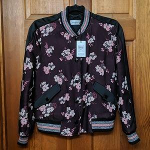 🌸🌼Coach 1941 Floral Varsity Jacket